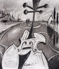 Charcoal Drawing HARMONY