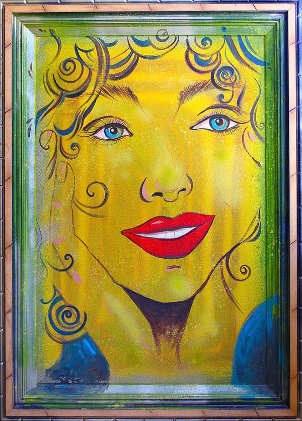 """Acrylic Painting """"SUNSHINE"""""""
