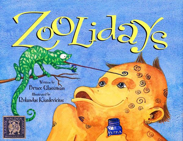 """Zoolidays"" Hardcover Children's Book Illustrated by Rolandas Kiaulevicius Dabrukas"