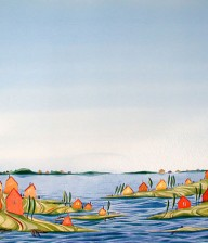 "Watercolor Illustration ""BRANTFORD"""