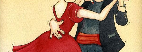 "Watercolor Illustration ""FOKSTROT"""
