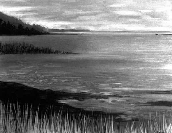 Charcoal Drawing BALANCE