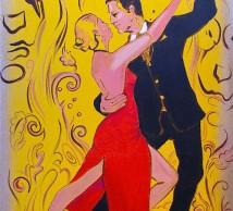 "Acrylic Painting ""TANGO"""