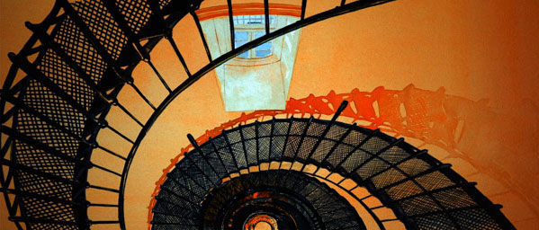 "Watercolor Illustration ""STAIRS"""