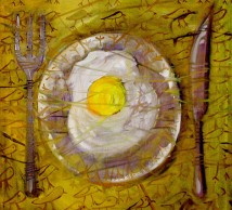 "Oil Painting ""BREAKFAST"""