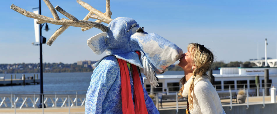 First Kiss - Blue Moose from Showtime Extravaganza