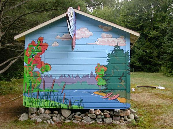 """Mural """"Fairy Tale House"""""""