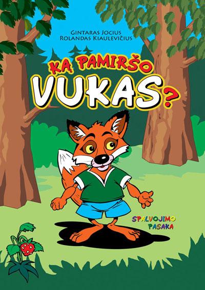 """What Forgot Vukas?"" Coloring Book Illustrated by Rolandas Kiaulevicius Dabrukas"