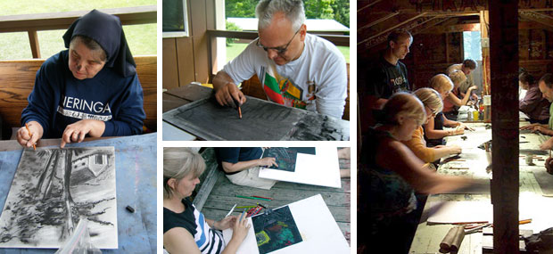 Privta art classes for adults