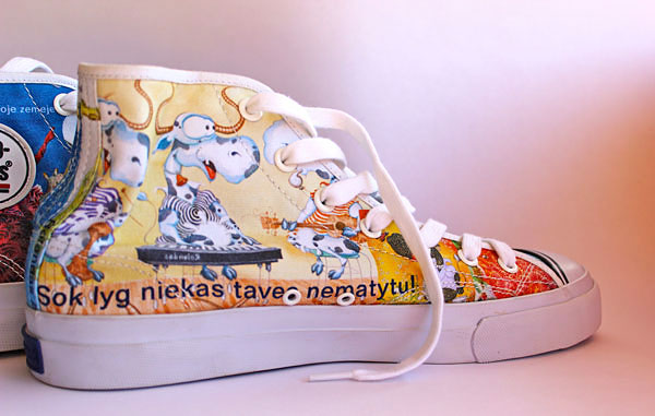 "Pro-Keds Custom Design Hi Men's Shoes ""Jazz"""