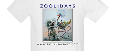 Kids Zoolidays T-shirt Custom Design by Rolandas Kiaulevicius Dabrukas