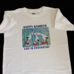happy rabit tshirt